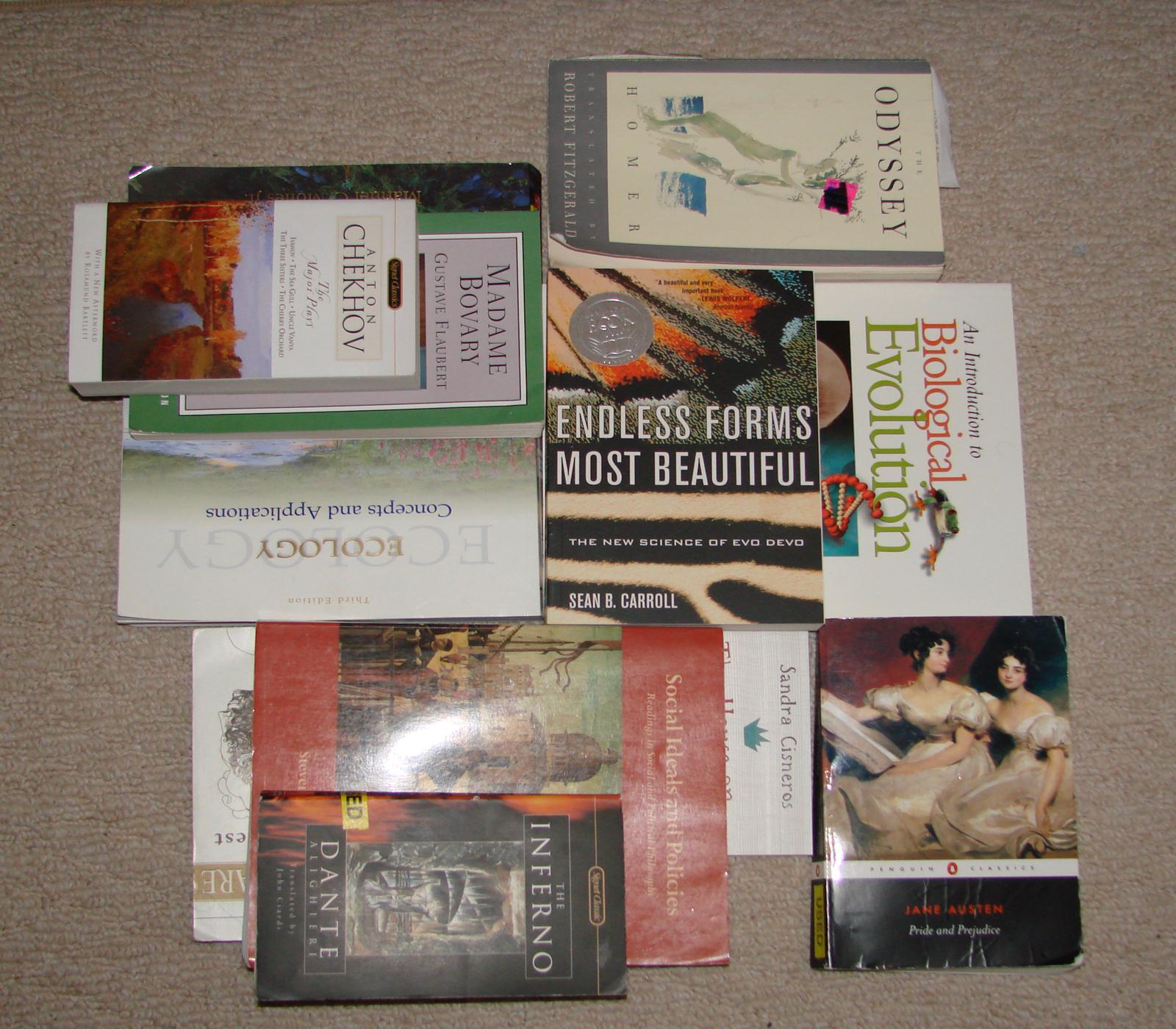 Spring Semester Books